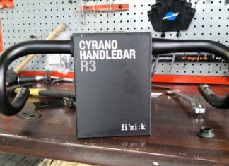 Test potence et cintre Fizik Cyrano R3 Bull