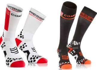 Compressport ProRacing Socks 2.1 et Full Socks V2.1