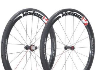 Les roues Visions Métron T55 sont parfaites pour le plat et les parcours vallonnés.