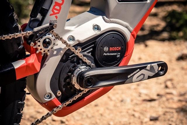 L'e-bike progresse de manière significative dans cette discipline.