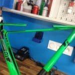 Une casse importante qu'il est possible réparer chez Deco-bike.