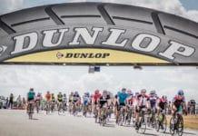 La célèbre montée du Dunlop.