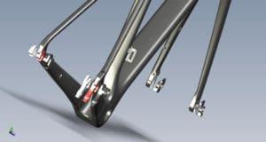 Le système de fixation interchangeable permet une compatibilité totale.