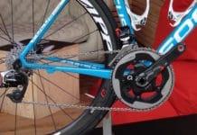 Une chaine de vélo de pro est toujours impeccable.