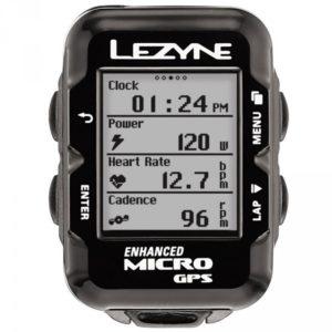 Le Lezyne Micro GPS est parfait pour les sorties sportives.