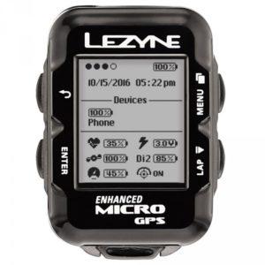 La totale connexion est également de mise sur le Lezyne Micro GPS.