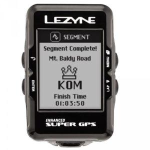 Le segment Strava Live est l'une des fonctions ludique du Lezyne Super GPS.