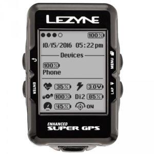 Le Lezyne Super GPS combine toute les fonctions qu'un cycliste recherche.