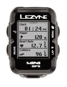 L'affichage est complet sur le Lezyne Mini GPS 2017