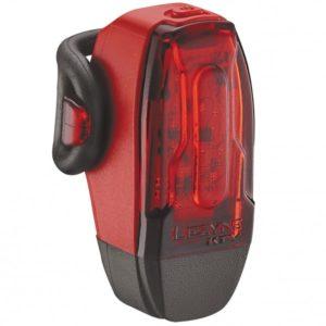 Également disponible dans le pack ou à l'unité le feu arrière Lezyne KTV Drive 2 se fixe partout.