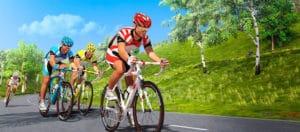 Une simulation sur route avec des adversaires à distance est aussi possible.