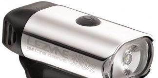 Le Lezyne Hecto Drive 350 XL est disponible en deux coloris.