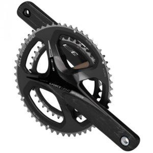 Le pédalier vélo route FSA offre un panel de possibilité de denture appréciable.