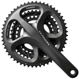 Le format pédalier vélo route triple tend à disparaitre.