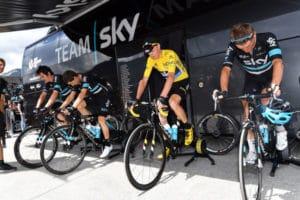 Le Team Sky a opté pour ce home trainer pour calibrer l'effort de manière individuel.
