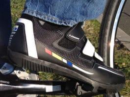 La chaussure Look Touring est adéquat en ville ou en mode cyclotouriste.