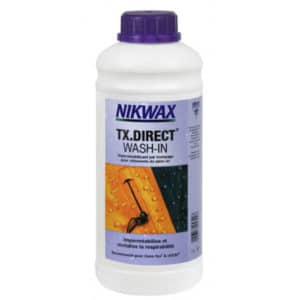 Aussi simple à utiliser qu'une lessive classique, le Nikwax TX Direct Wash In redonne la technicité d'origine à votre vêtement.