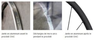 Voici les trois étapes du procédé de fabrication des roues DT Swiss PR 1400 Dicut OXiC.
