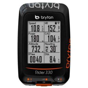 Compact, facile à utiliser au quotidien, le GPS Bryton Rider 330 à tout bon!