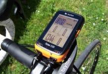 Le GPS Bryton Rider 530 est lisible et facile d'utilisation.