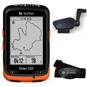 Il est possible d'associer plusieurs appareils sur le GPS Bryton Rider 530.