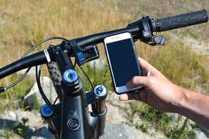 La mise à jour du système Shimano Steps MTB peut également se faire par votre téléphone en utilisant l'application E-Tube.