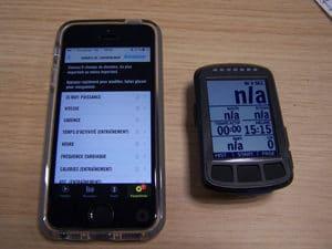 L'interface nécessaire pour piloter de Wahoo Elemnt Bolt est soit votre téléphone ou une tablette.