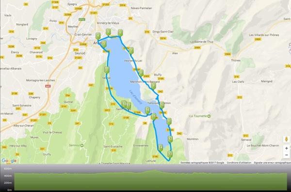Vous avez une destination? Vous pouvez importer un itinéraire vélo avec un GPS Bryton très facilement.