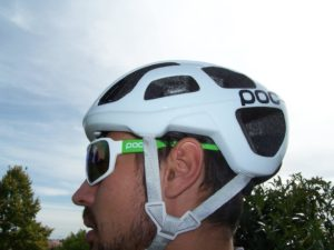 Le casque vélo Poc Octal affiche des critères de protection évident.