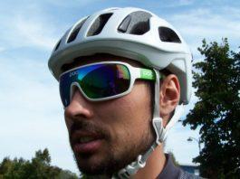 Le casque vélo Poc Octal assure une excellente protection. En plus il est léger.