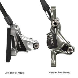Voici comment reconnaitre les versions d'étriers Flat Mount et Post Mount pour un vélo route.