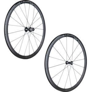 Les roues vélo route Vision Team 35 Comp sont recommandées pour un cycliste grand et puissant.