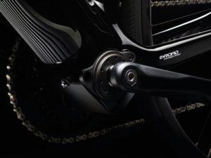 Le cœur du système c'est le moteur qui développe 250w.