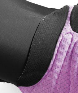 C'est souvent au niveau de l'insert et des coutures que les signes de fatigue arrivent.