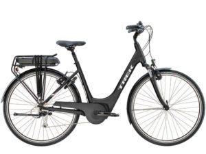 Le vélo électrique de ville Trek est parfait pour un déplacement urbain et la balade.