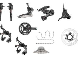 Les groupes Campagnolo 12 vitesses passent un cran supplémentaire dans la transmission vélo route.©Campagnolo