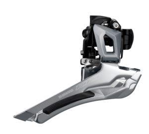 Le dérailleur reprend la technologie utilisée sur les deux versions haut de gamme.