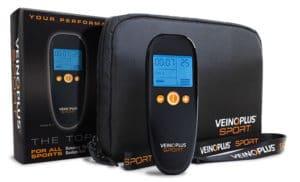 Le coffret du Veinoplus Sport est facilement transportable.