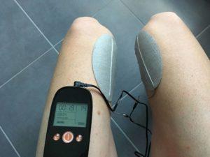 Les quadriceps peuvent aussi bénéficier de la récupération du Veinoplus Sport.