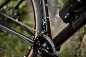 Le détail du guide-chaine du BMC Roadmachine X est également la preuve de la qualité du détail.