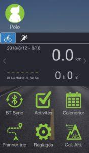 Le transfert d'activité par l'application est simple et rapide.