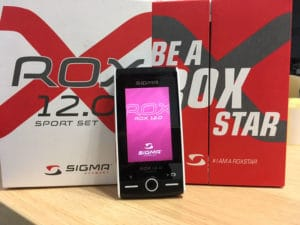 Le Sigma Rox 12 est aussi esthétique qu'un téléphone portable.