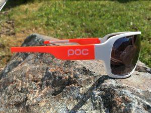 On apprécie également la qualité des lunettes Poc Blade.
