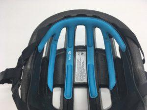 La mousse Spin permet d'augmenter la sécurité du cycliste.