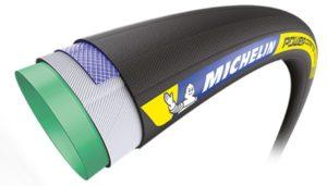La structure en détail du Michelin Power Compétition Tubular.