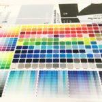 Le panel des couleurs est immense. Un aperçu avec les codes Pantone.