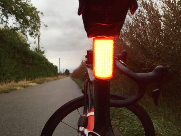 L'éclairage vélo Knog Cobber est vraiment idéal.