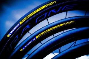 Le boyau Michelin Power Compétition est d'une efficacité redoutable.©Michelin/ Florent Giffard