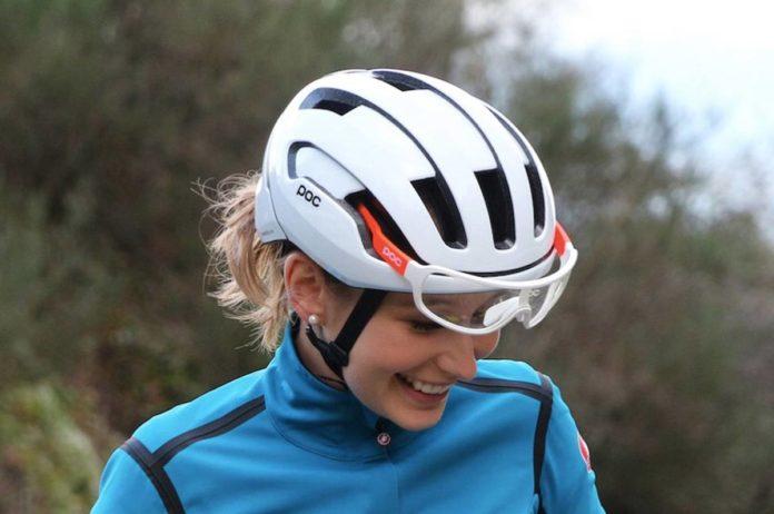 Le casque vélo femme Poc Omne Air Spin convient à toutes les femmes.