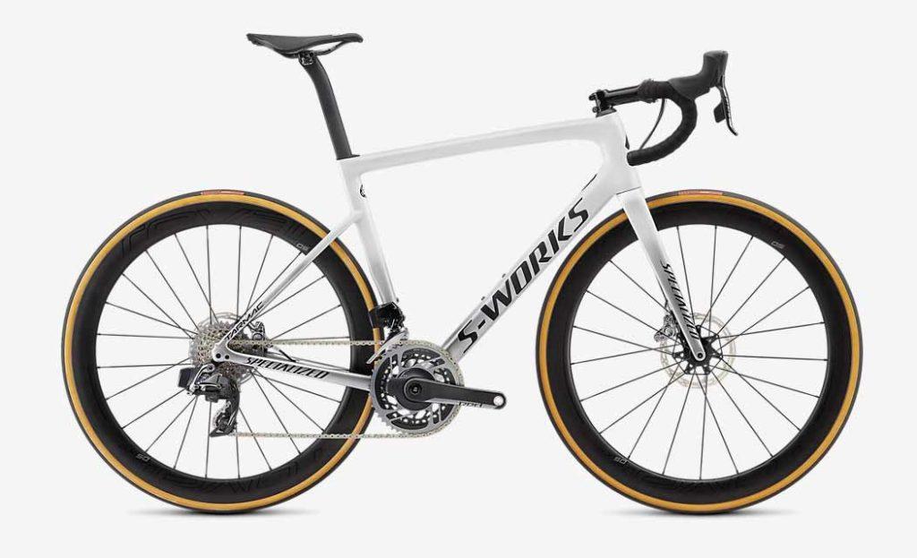 Le S-Works Tarmac est incontournable dans les 5 meilleurs vélos route.©Specialized